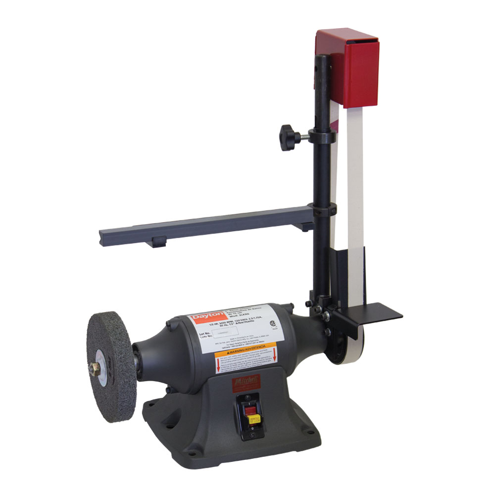 Treadmill Belt Sander: Belt Sander & Buffer Motor W/ Ferrule Turning Fixture